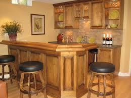 marvelous home bar designs ideas with corner bar along wooden bar table also floating glass door black mini bar home
