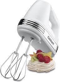 Cuisinart HM-70C Power Advantage <b>7 Speed Hand</b> Mixer - White ...