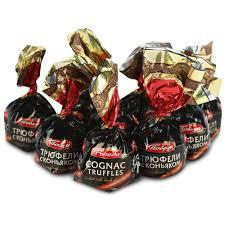 <b>Конфеты</b> шоколадные победа вкуса трюфели с коньяком 200г ...