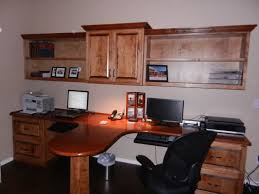 rectangle cream maple wood two person office alluring person home office design fascinating