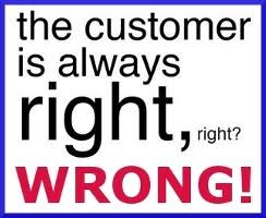 The customer is not always right essay   Original Papers