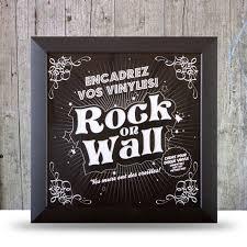 """Настенная <b>рамка</b> Rock On Wall для LP 12"""", черный — купить в ..."""