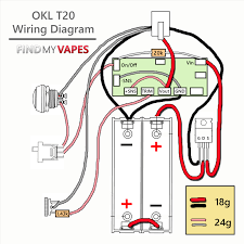 how to build okl t20 box mod tutorial findmyvapes okl t20 wiring diagram