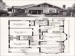 Vintage Craftsman House Plans Vintage Bungalow Floor Plans