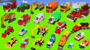 Fire <b>Truck</b>, <b>Trains</b>, Tractor, Police <b>Cars</b>, Excavator, <b>Trucks</b> ...
