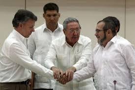 Resultado de imagen para dialogos de paz en colombia
