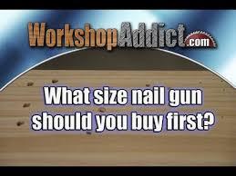 What Gauge <b>Nailer</b> for <b>Woodworking</b>? - YouTube