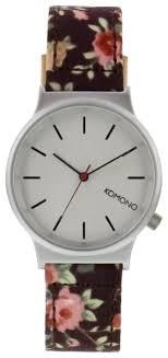 Наручные <b>часы KOMONO Wizard</b> Print Series Roseberry — купить ...