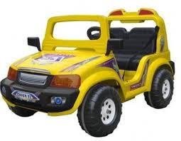 Детский <b>электромобиль Chien Ti</b> Touring CT-855, цвет: желто ...