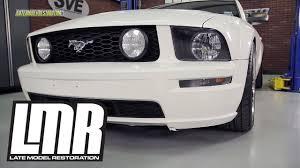 Mustang <b>Front Bumper</b> Park Lights Install (2005-2009) - YouTube