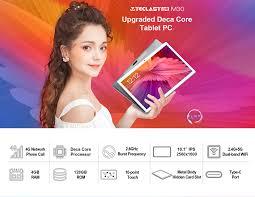 Newest <b>Teclast</b> M30 10.1 inch Tablet MT6797 X27 Deca Core 2560 ...