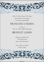 wedding invitation card template word template update234 com wedding invitation card template word