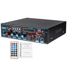 <b>800W</b> 12/220V <b>HIFI 2CH</b> Power Amplifier o Home Theater Sound ...
