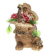 <b>Фигура Decor trade</b> unic кролик с цветами (1001346062) купить в ...