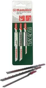 "<b>Набор пилок для лобзика</b> Hammer ""Flex 204-901 JG WD-PL"", Set ..."