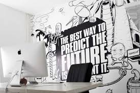 amazing office room design with beautiful wall picture amazing office decor