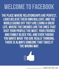 funny welcome to Facebook quote on imgfave