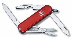 Складной <b>нож</b> VICTORINOX Rambler, 10 функций, <b>58мм</b>, красный ...