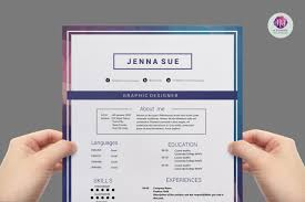 simple modern resume sample for job hunter shopgrat resume sample cool editable modern cv template resume templates on thehungryjpeg