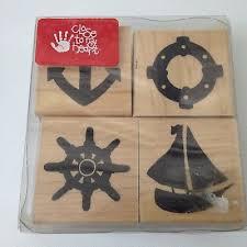 Close to my Heart - <b>Sailing Boat</b> Anchors - 4 Piece Set - (S052) | eBay