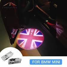 AMBERMILE <b>2PCS LED Car Door</b> Shadow Light Laser Projector ...
