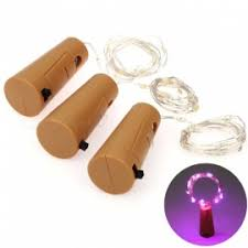 2M 20-LED Battery Powered Wine <b>Bottle</b> Stopper Style Light <b>Cork</b> ...