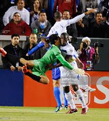 v photos and images getty images goalkeeper ricardo jerez 1 of collides henry thomas 6 of