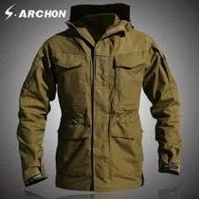 <b>M65 UK US</b> Army Clothes Casual <b>Tactical</b> Windbreaker Men Winter ...