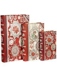 <b>Набор из 3-х коробок</b> в види книги Punch Studio 9105976 в ...