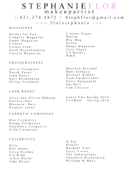 makeup artist resume samples resume format 2017 makeup