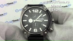 Обзор. <b>Мужские</b> наручные <b>часы</b> Diesel DZ4341 с хронографом ...