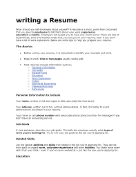 how to write a correct resume tk category curriculum vitae