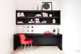 home office essential modern red black and white contemporary home office black contemporary home office