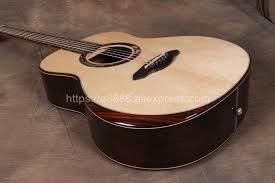 "Online Shop <b>Full</b> Solid Handmade <b>39</b>"" Electric Acoustic Flamenco ..."