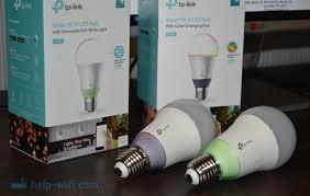 Умные <b>лампочки</b> от <b>TP</b>-<b>Link</b>: подключение, настройка, управление