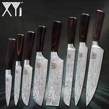 """<b>XYj Brand Kitchen Knives</b> 3.5"""" 5"""" 7"""" 8"""" inch Stainless Steel Knife ..."""