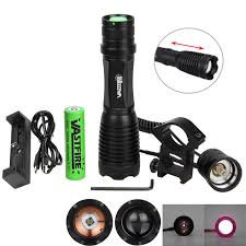 <b>VastFire Zoomable</b> Adjustable <b>Infrared</b> Light Hunting Torch Black ...
