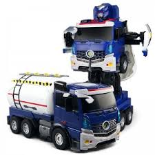 """<b>Радиоуправляемый робот-трансформер JiaQi</b> """"Бензовоз"""" - JQ6609"""