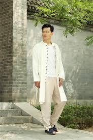 Asian Traditional Style Men Kung Fu Tai Chi Hanfu <b>Copper</b> buckle ...