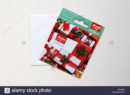 Argos Christmas giftcard gift card isolated on white background ...