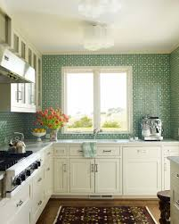 Ceiling Tiles For Kitchen Small Green Kitchen Tiles Quicuacom