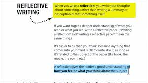 to write a reflective analysis essay how to write a reflective analysis essay