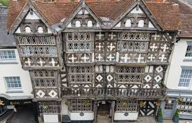 The <b>Feathers</b> Hotel at Ludlow