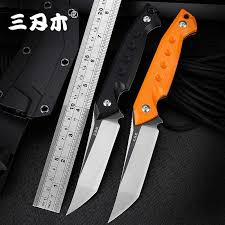 <b>Sanrenmu</b> S761 New Fixed Knife 8cr13mov Blade G10 Handle ...