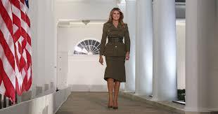 Hidden Meaning Behind Melania Trump's RNC <b>Military</b> Look