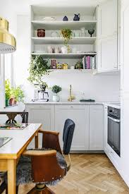 upper kitchen cabinets pbjstories screenbshotb: this tiny scandinavian home is packed with style via mydomaine