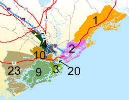 Image result for map of charleston county school district