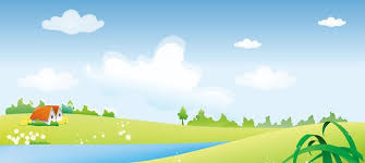 <b>Cartoon</b> Meadow <b>Blue</b> Sky <b>Background</b> Material Housing | <b>Blue</b> sky ...