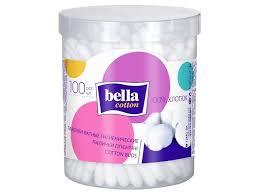Ватные <b>палочки</b> Cotton в пластиковой круглой упаковке <b>100 шт</b> ...