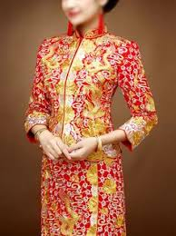 <b>Traditional Chinese bridal wedding dress</b> kwa qun ...